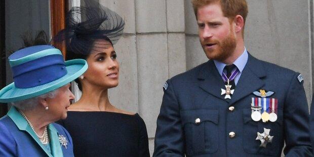 Harry & Meghan: Jetzt legen sie sich mit der Queen an