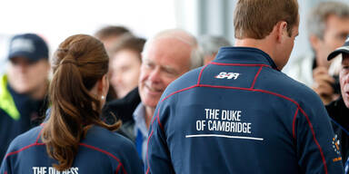Prince William & Kate beim America's Cup