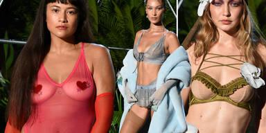 Rihanna zeigt Unterwäsche-Kollektion