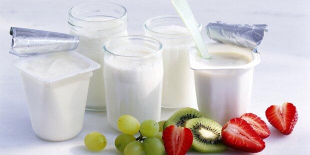 Was tun mit der Flüssigkeit auf dem Joghurt?