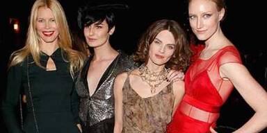 Schöne Models, tolle Mode, gute Stimmung