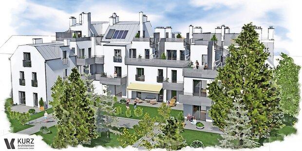In Speising entstehen 17 neue Eigentumswohnungen