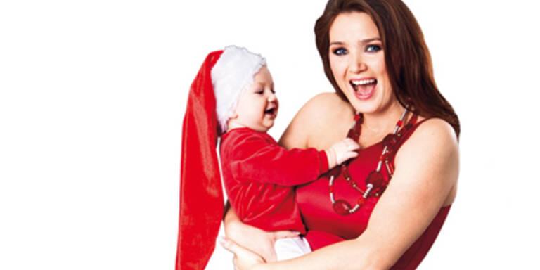 Erstes Weihnachten mit Baby