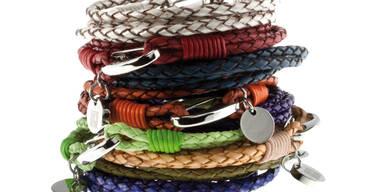 Trendy Leder-Bänder zu gewinnen
