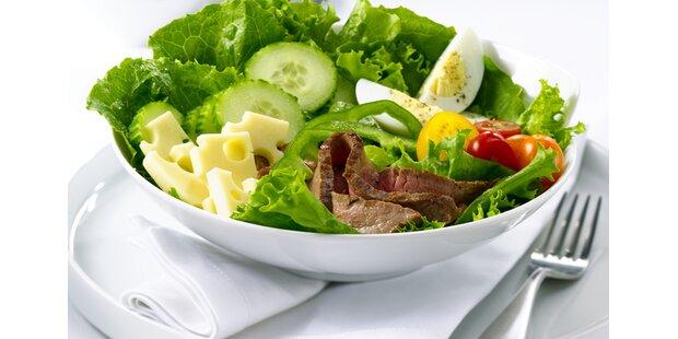Salatrezepte mit Ei