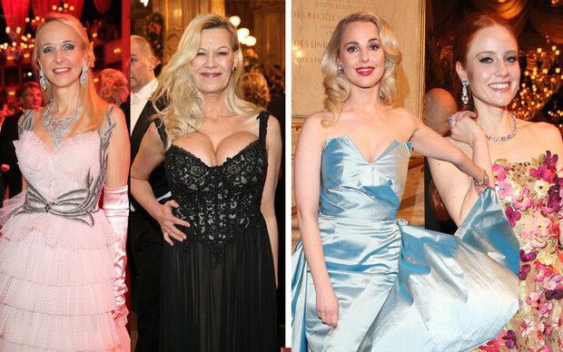 Die Top-Looks des Opernballs 2018