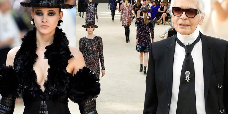 Chanel huldigt Paris - Paris huldigt Lagerfeld