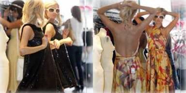 Paris Hilton im Shopping-Fieber