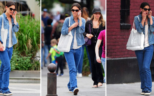 Katie Holmes  Look ist total OUT!