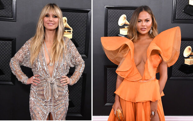 DAS war der Trendlook bei den Grammys