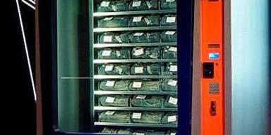 Jeans aus dem Automaten