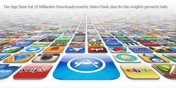 Geld zurück für Apps von Apple