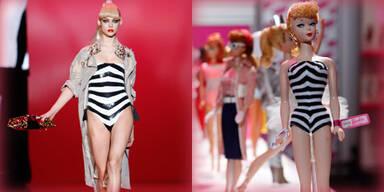 Barbie-Girls auf dem Laufsteg