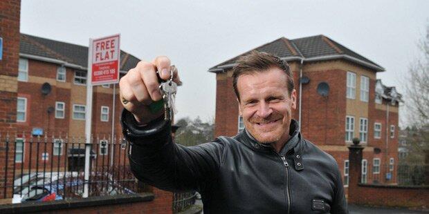 Millionär verschenkt eines seiner Häuser