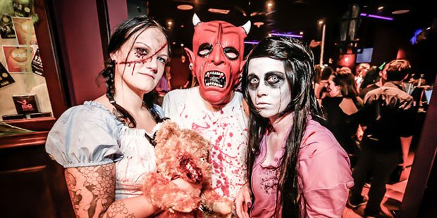 So schaurig feierte Wien Halloween