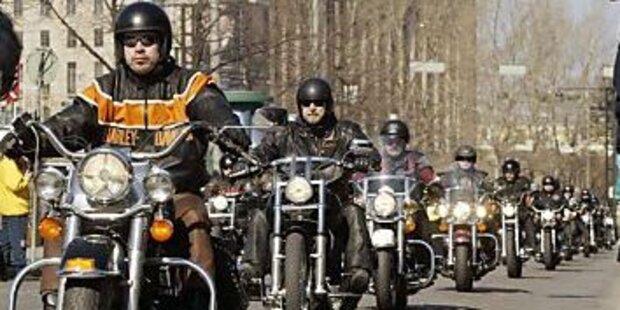 Biker sind wieder unterwegs