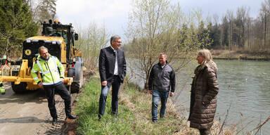 Pflege für die Flussbegleiter