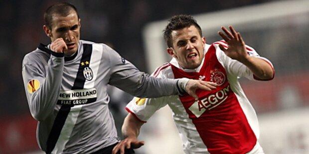 Juventus gewann dank Amauri-Doppelpack