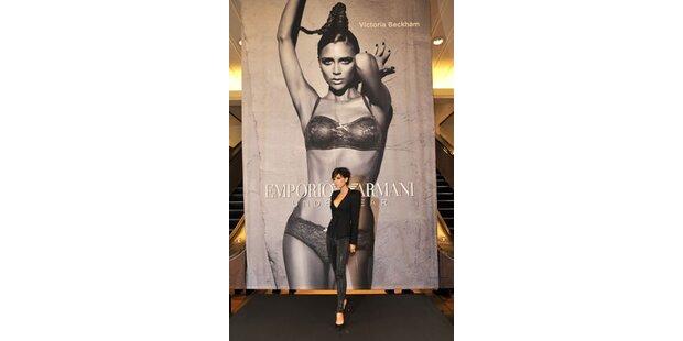 Victoria trägt wieder Armani-Dessous