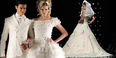 2 Mädchenträume zum Anziehen: Brautkleider