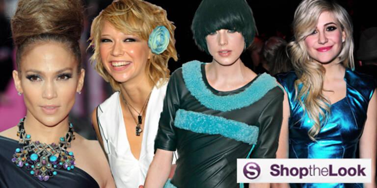 Türkis Schmuck Mode Fashion Farbe Sommer