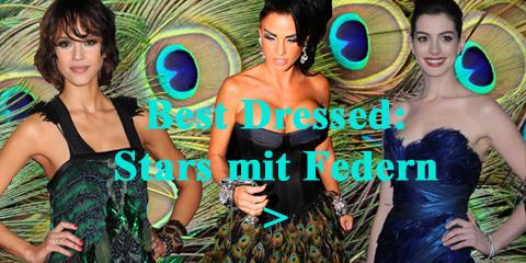 2 Teaser Best Dressed: Star mit Federn