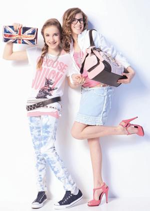 2 We love Denim & Pink
