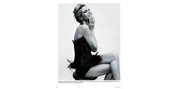 So schön: Heidi Klum in der neuen Vogue