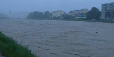 Starke Unwetter in Österreich