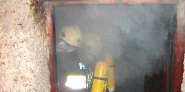 Großalarm: Uralte Mühle fast zerstört