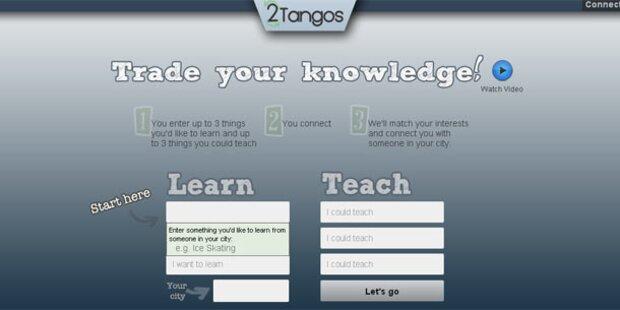 Eigenes Wissen teilen und selbst etwas lernen