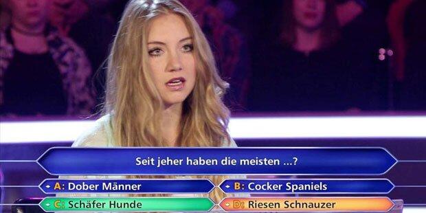 0-Kandidatin geht auf Günther Jauch los