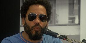 Lenny Kravitz zeigt sich & Fotos in Wien
