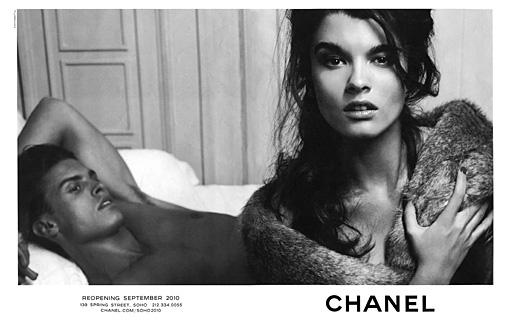 Chanel mit Crystal Renn