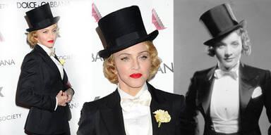 Madonna kopiert Marlene Dietrich