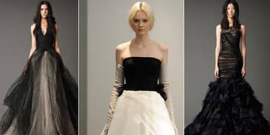 Trend: Hochzeitskleider in Schwarz