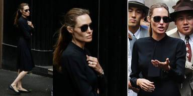 Angelina Jolie extrem dürr