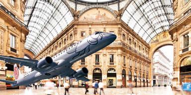 Mit Niki & Madonna nach Mailand