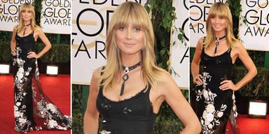 Heidi: ohne Make-up bei den Golden Globes?