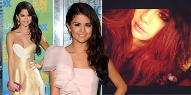 Selena Gomez bereut ihre feuerrote Mähne