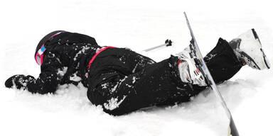 Ski unfall