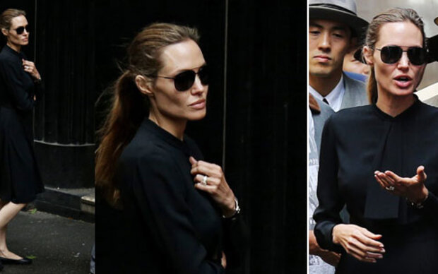 Angelina Jolie ist erschreckend mager