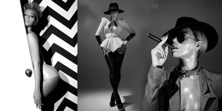 Beyoncé: umwerfend sexy in Latex