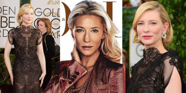 Cate Blanchett: Ohne Photoshop viel schöner