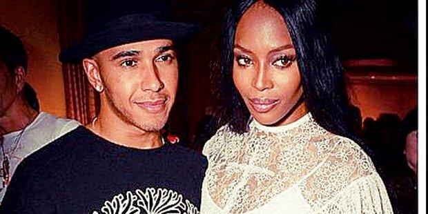Lewis, was läuft da mit Naomi?