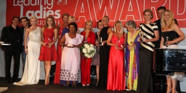 Staraufgebot beim Leading Ladies Award