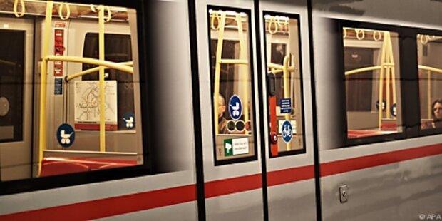 Wiener U-Bahn 20min lahmgelegt
