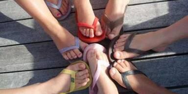 Frühlingsputz für Ihre Füße