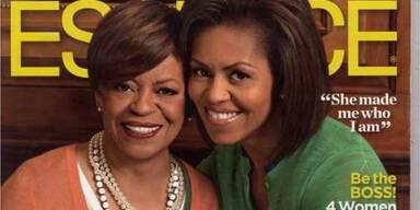 Michelle und ihre Mutter im Talk
