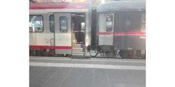 Zugunfall am Salzburger Hauptbahnhof